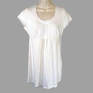 Boden Empire Waist Tunic Stretch Knit Top Dress